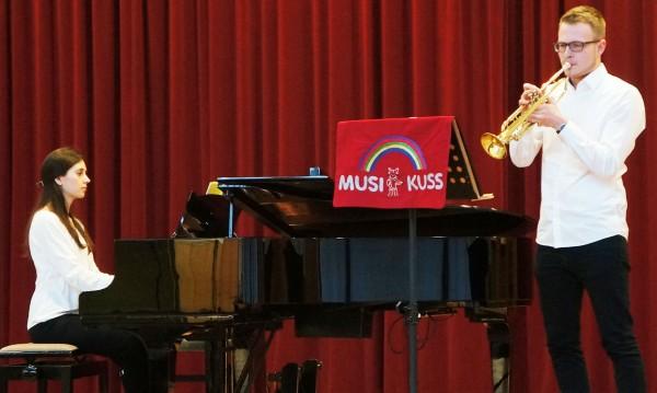 Klavier - Lidia Stürtz, Trompete Jannis Böning