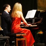 Klavier 4-händig: Alexander Savenok, Tanja Barth