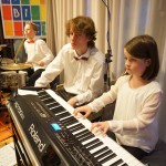 Klavier, Schlagzeug-1