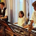 Klavier, Schlagzeug-3