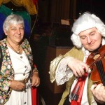 Christine Büttner, Simon Wölfl alias Georg Friedrich Händel, ©Michael Hoetzel DGPh