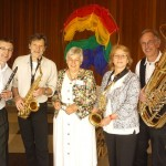 Christine Büttner mit dem Saxophon Quartett, ©Michael Hoetzel DGPh
