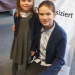 Emilia Diederichsen (Bratsche, Gast) und Maren Diederichsen (Klavier-Begleitung), AGr. III, 23 Punkte, 1. Platz