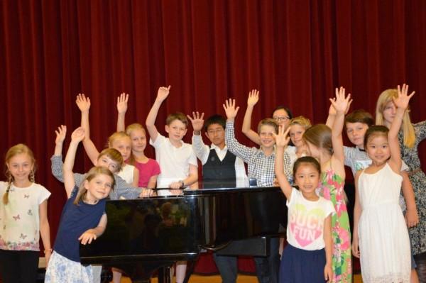 Klavierklasse Tuende Zeke und Inna Walter