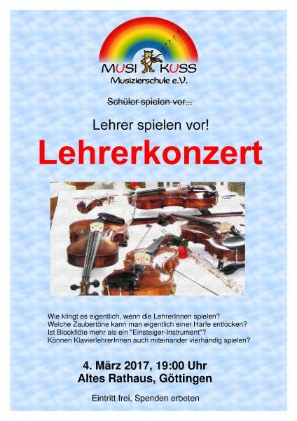 Plakat Lehrerkonzert 4.3.2017