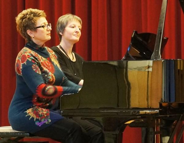 Zugabe - Irina Guseva und Tünde Zeke