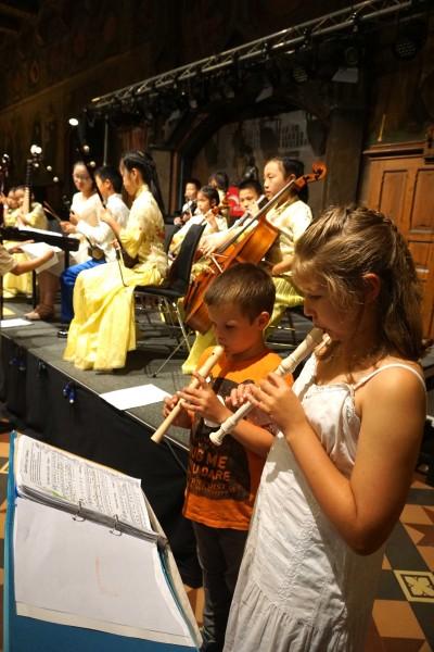 Finja, Frederic, Chinesen-Orchester