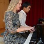 Alexandra Walter und Felix Tian