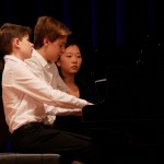 Klavier: Eric und Andreas