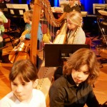 Klavier, Harfe